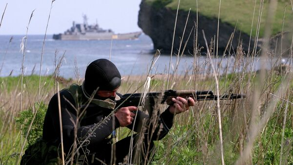 Russian reconnaissance troops held exercises - Sputnik International