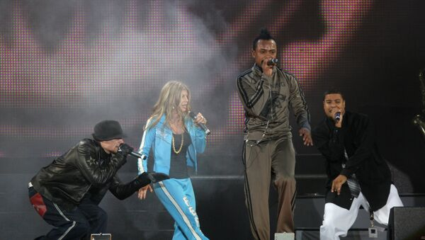 The Black Eyed Peas in Moscow - Sputnik International