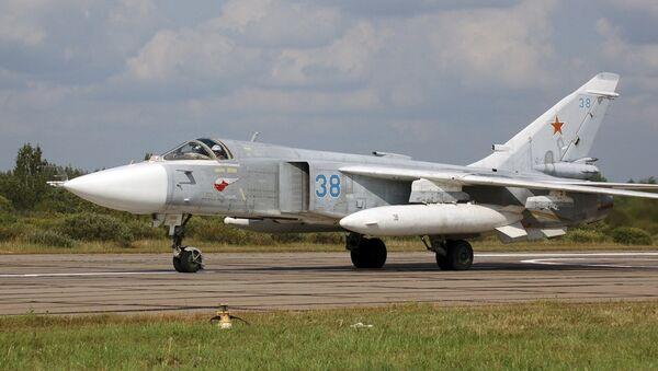 SU-24 combat airplane - Sputnik International