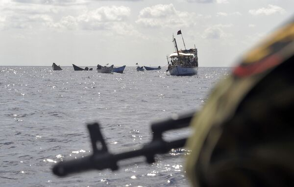 The organization said two more pirate attacks were reported in the region on Wednesday. - Sputnik International