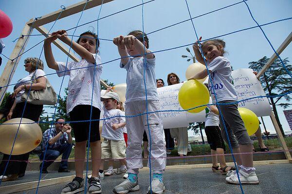 Children in Georgia - Sputnik International