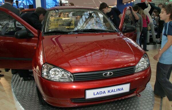 Russian car Lada Kalina - Sputnik International