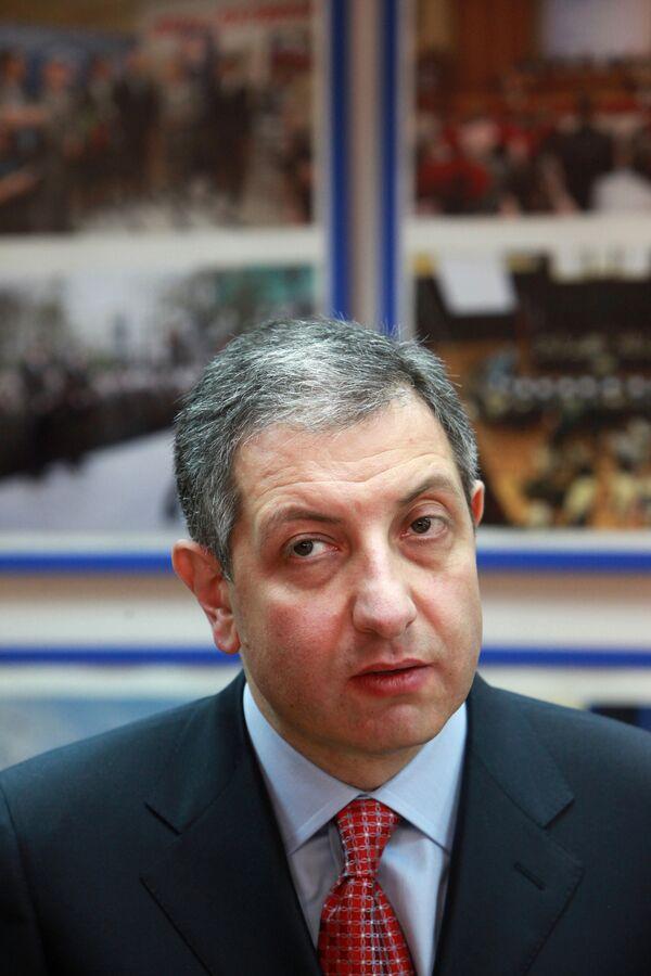 Georgian opposition leader Zurab Nogaideli - Sputnik International