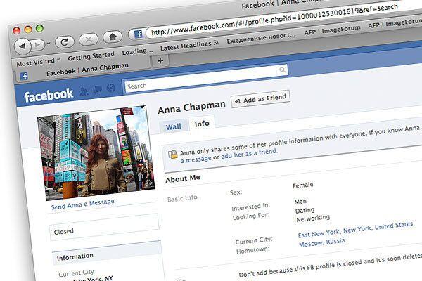 Anna Chapman's Facebook page  - Sputnik International