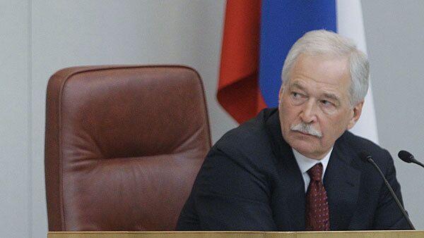 Russian State Duma Speaker Boris Gryzlov - Sputnik International
