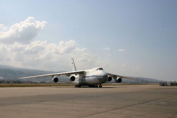 Antonov An-124-100 strategic heavylift aircraft Ruslan - Sputnik International