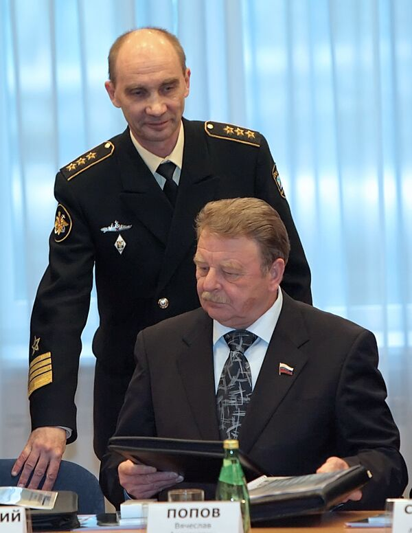 Russian Navy Commander Admiral Vladimir Vysotsky - Sputnik International