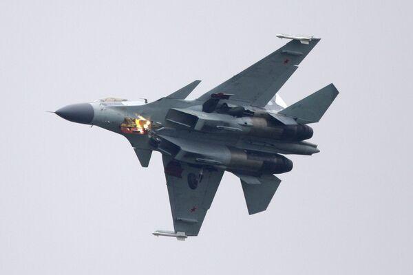 Russian Su-35 Flanker fighter - Sputnik International