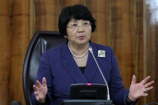 Kyrgyzstan's president Roza Otunbayeva - Sputnik International