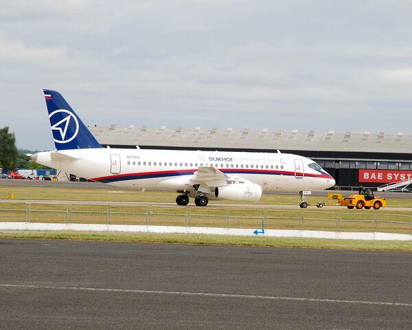 Sukhoi Superjet 100 aircraft - Sputnik International