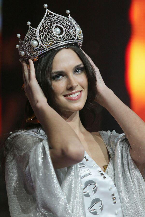 Russia's representative at Miss Universe 2010 - Sputnik International