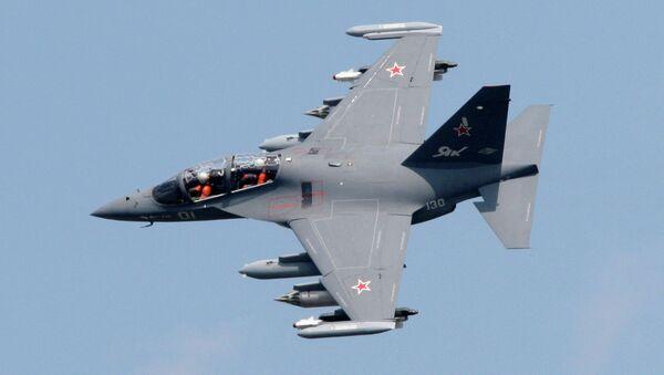 YAK-130, International Air Show MAKS-2009 - Sputnik International