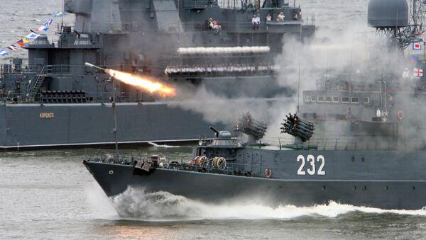 Празднование Дня Военно-морского флота России в Балтийске - Sputnik International