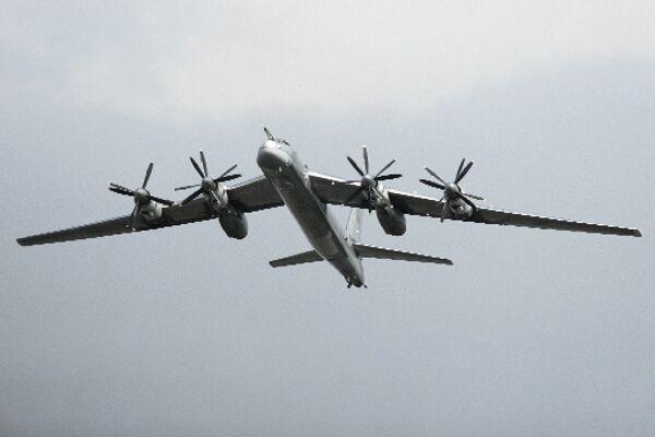 Tu-95MS Bear-H strategic bomber - Sputnik International