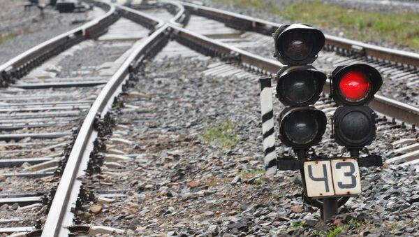 Железнодорожный светофор - Sputnik International
