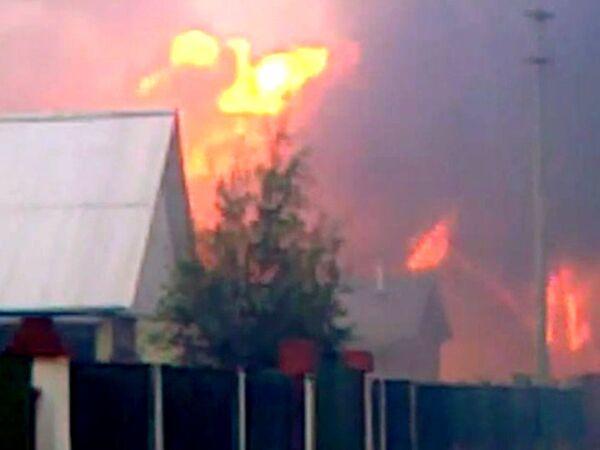 Forest fires approach Moscow: Kolomna Kremlin is in danger  - Sputnik International