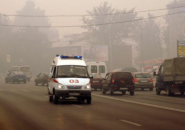 Deadly Moscow summer kills 700 daily - Sputnik International