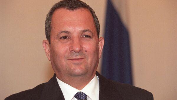 Former Israeli Defense Minister Ehud Barak - Sputnik International