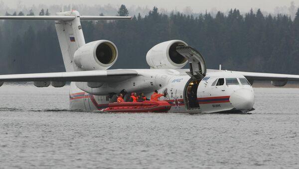 Be-200 amphibious aircraft - Sputnik International