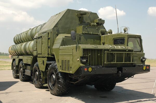S-300 air-defense system - Sputnik International