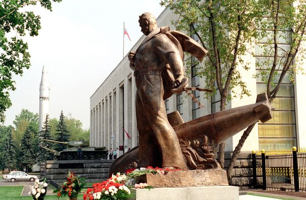 Monument to the Kursk's crewmembers - Sputnik International