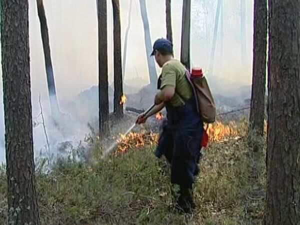 Guest workers, monks and foresters are putting out fires in Sverdlovsk Region - Sputnik International