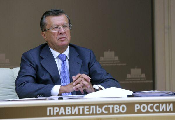 First Deputy Prime Minister Viktor Zubkov - Sputnik International