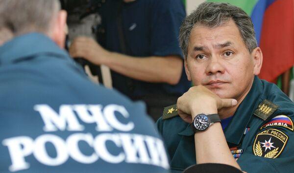 Russian Emergencies Minister Sergei Shoigu - Sputnik International