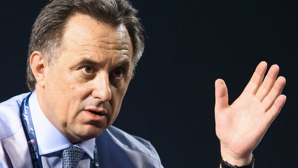 Russian Sports Minister Vitaly Mutko - Sputnik International