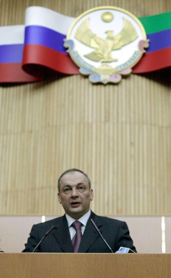 President of Russia's volatile North Caucasus Republic of Dagestan Magomedsalam Magomedov  - Sputnik International