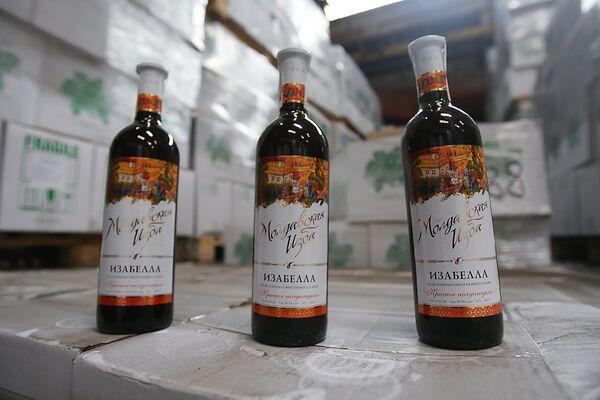 Bottles of Moldovan wine - Sputnik International