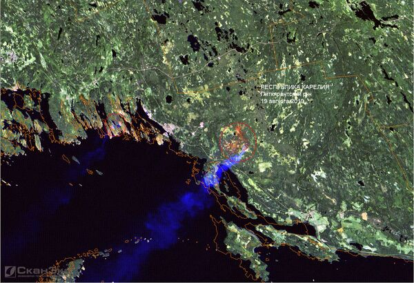 The Aqua satellite, equipped with an atmospheric infrared sounder, and Terra, equipped with a thermal emission and reflection radiometer register any hotspots across Russia. - Sputnik International