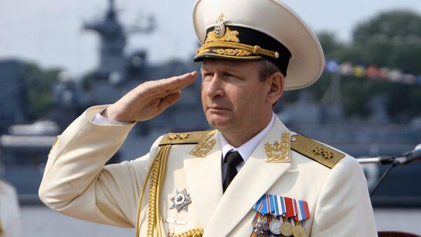 Navy Commander-in-Chief Adm. Viktor Chirkov - Sputnik International
