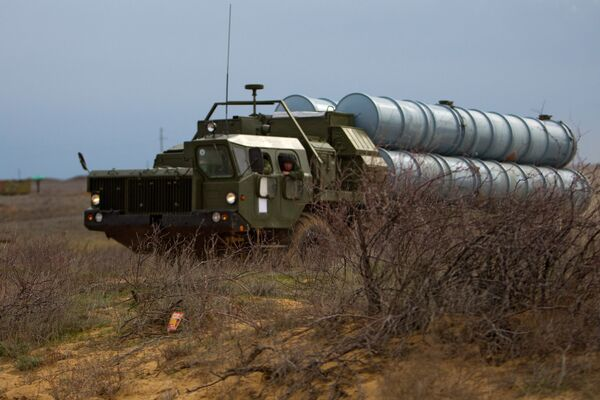 S-300 missiles - Sputnik International