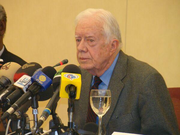 Former U.S. President Jimmy Carter  - Sputnik International