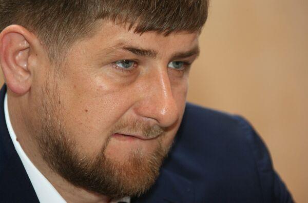 Chechen President Ramzan Kadyrov - Sputnik International