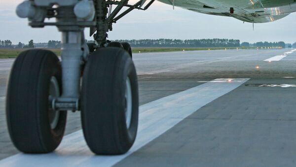 Cargo plane breaks chassis during take-off in Tallinn, airport closed - Sputnik International