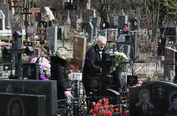 Cemetery. Archive - Sputnik International