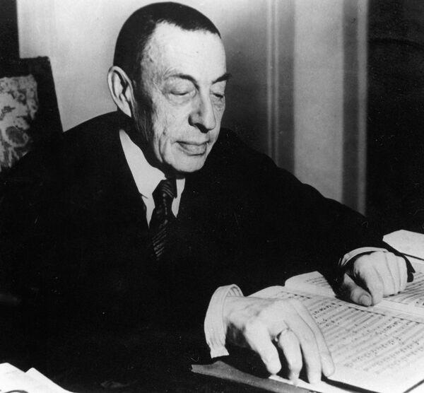 Russian composer Sergey Rachmaninoff - Sputnik International