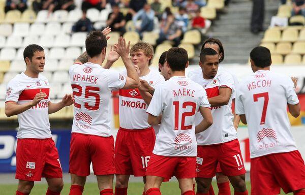 Spartak Moscow football players - Sputnik International