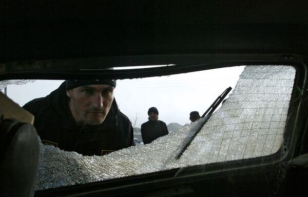 Blown-up car. Files - Sputnik International