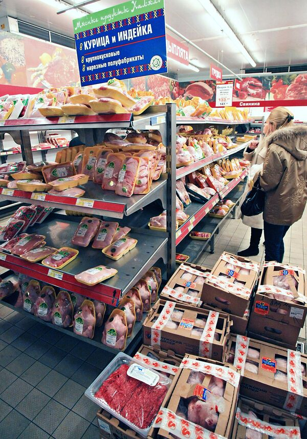 U.S. poultry accounted for almost 80% of poultry imports to Russia.  - Sputnik International