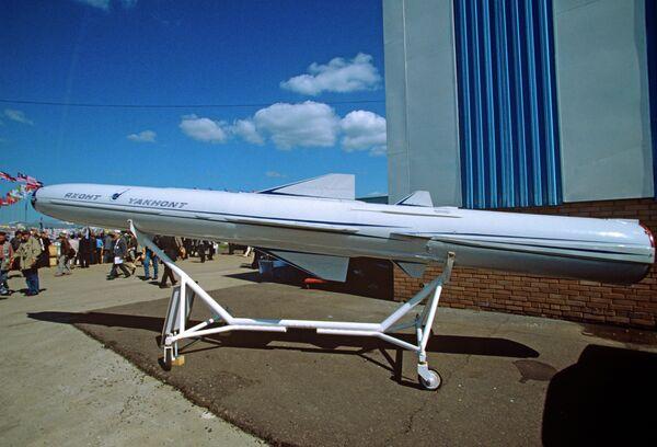 P-800 Yakhont supersonic cruise missile - Sputnik International