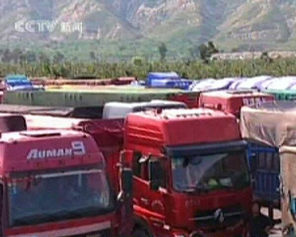 Massive traffic jam stretches near Beijing  - Sputnik International