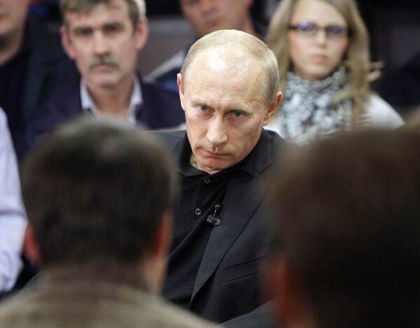 Prime Minister Vladimir Putin in Norilsk - Sputnik International