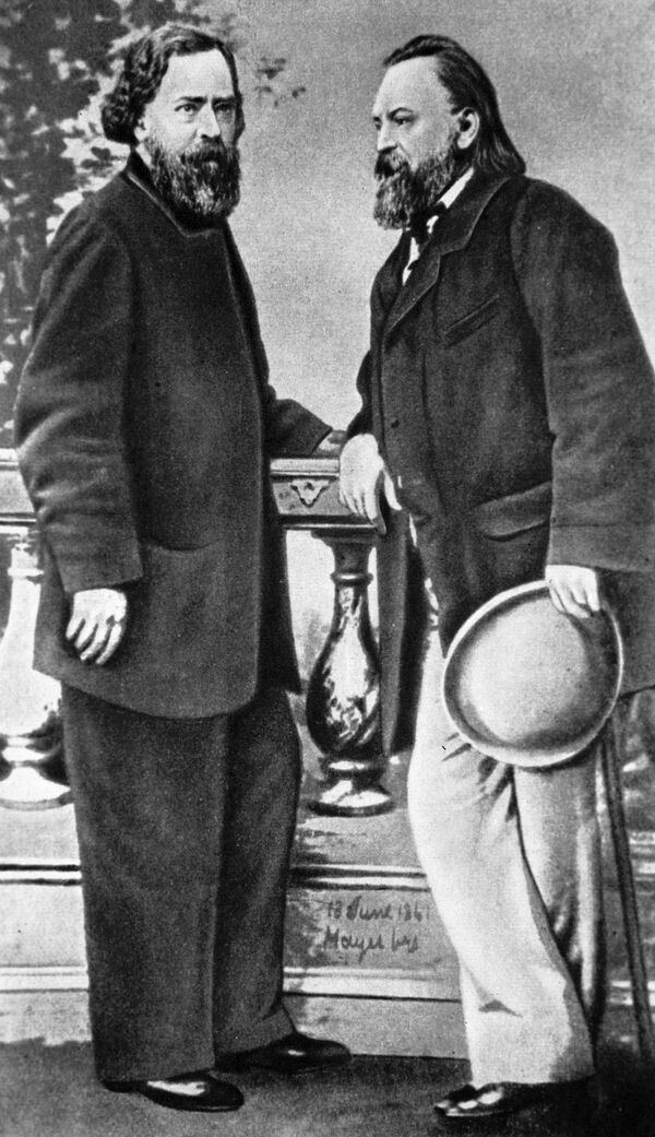 Alexander Herzen and Nikolai Ogaryov - Sputnik International