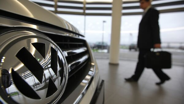 Volkswagen started full-cycle production at the Kaluga plant in October 2009. - Sputnik International