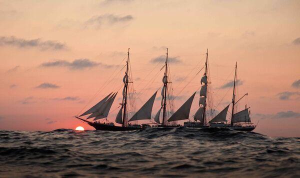 Kruzenshtern barque - Sputnik International