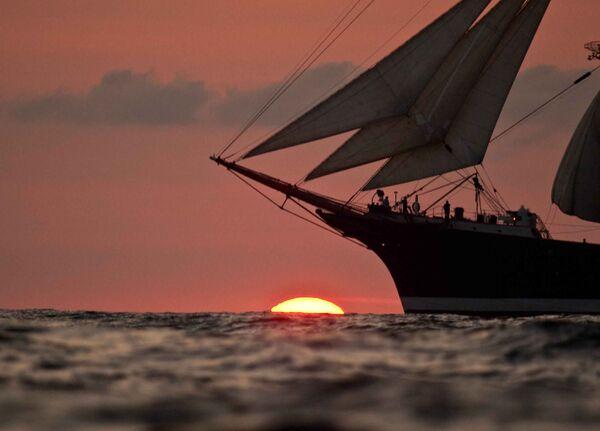 The Kruzenshtern is widely regarded as one of the jewels of the Russian sailing fleet. - Sputnik International
