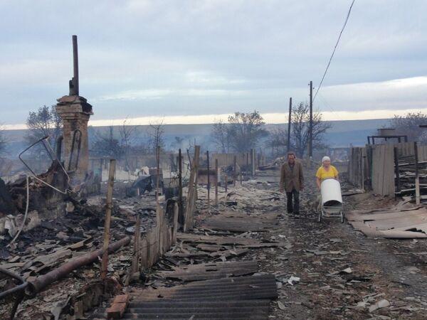 Nine injured in wildfires in Russia's Volgograd region still in hospital - Sputnik International